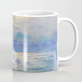Claude Monet's Waterloo Bridge Coffee Mug