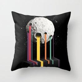 RainbowMoon Throw Pillow