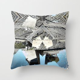 Summer space, smelting selves, simmer shimmers. 23 Throw Pillow