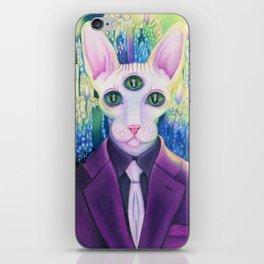 Kitty like light iPhone Skin