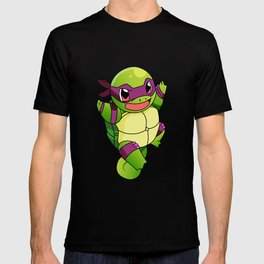 TMNT_POKET_MONSTER_purple T-shirt
