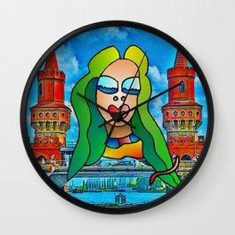 Berlin Lady Wall Clock