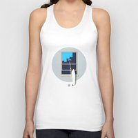 happiness Tank Tops featuring Happiness by Inksider