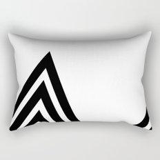Hello V Rectangular Pillow