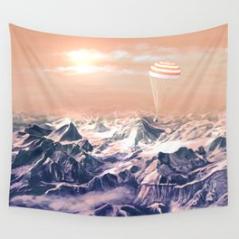 Astronaut Returns II Wall Tapestry