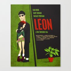 Leon and Mathilda Canvas Print