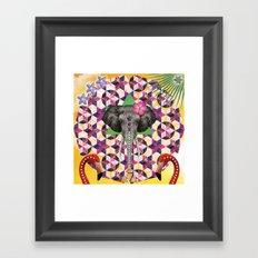 ▲ OMAWNAKW ▲  Framed Art Print