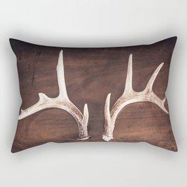 Antlers No. 12 Rectangular Pillow