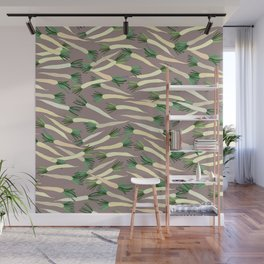 Daikon Radish Carrot Roots Wall Mural