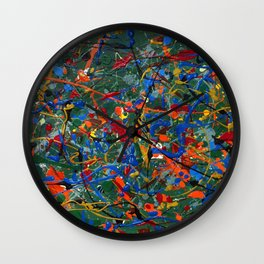 Abstract #17 Wall Clock