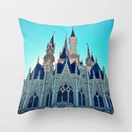 Castle Architecture Closeup 1 Throw Pillow