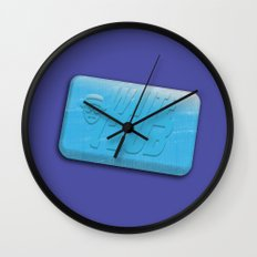 White Club Wall Clock