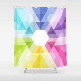 Fig. 025 Geometric shape Shower Curtain