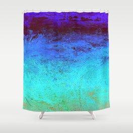 Warm Ice Shower Curtain