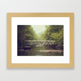 Horsepasture Bridge Framed Art Print