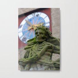 The Death   Der Tod Metal Print