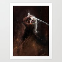 thranduil Art Prints featuring Thranduil by LucioL