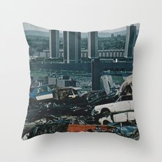 Collage No.57 Throw Pillow