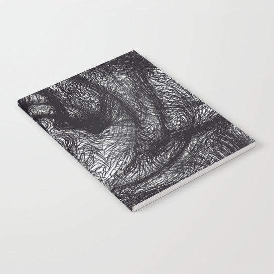 furry swirl Notebook