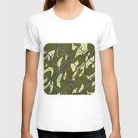 camouflage T-shirts featuring Camouflage  by Ethna Gillespie