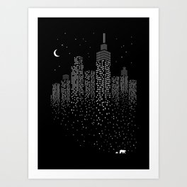 Polar City Art Print