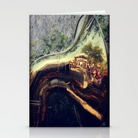 sonic Stationery Cards featuring Sonic Reflections by KunstFabrik_StaticMovement Manu Jobst