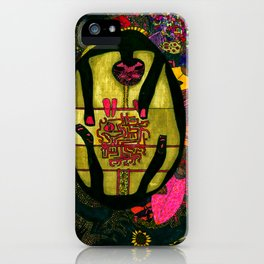 Sunflower in me iPhone Case