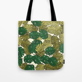 Botany: Monstera Deliciosa Tote Bag
