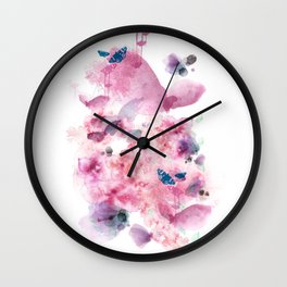 Life in colour Wall Clock