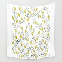 Pattern with lots of leaves Wall Tapestry