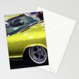 Lime Green Merc 1963 Stationery Cards