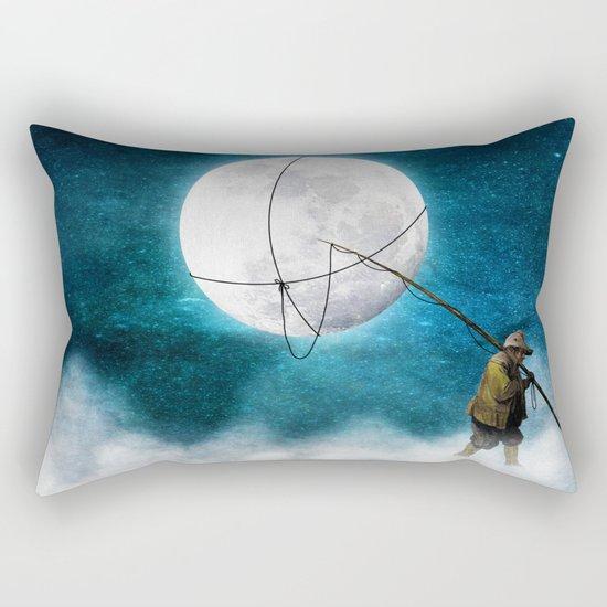 Moonwalk Rectangular Pillow