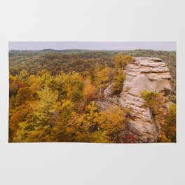 Autumn at Lover's Leap Rug