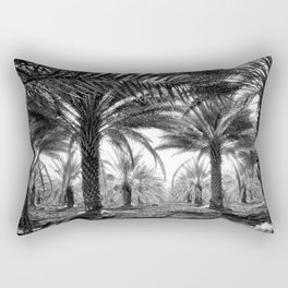 Vintage Palms Trees : Coachela Valley California 1937 Rectangular Pillow