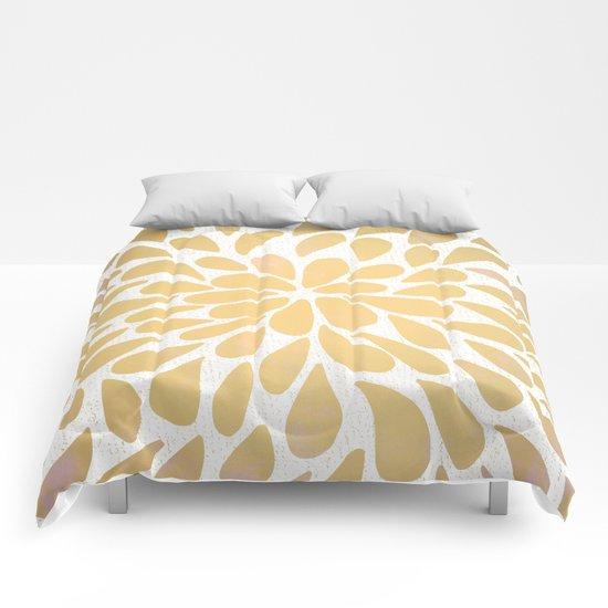Petal Burst #6 Comforters
