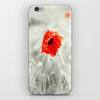 poppy iPhone & iPod Skins featuring Poppy by Falko Follert Art-FF77