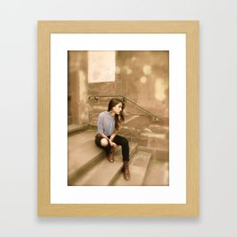 Time Goes By Framed Art Print