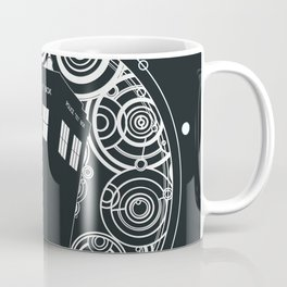 Negative Time and Space - Doctor Who inspired Coffee Mug