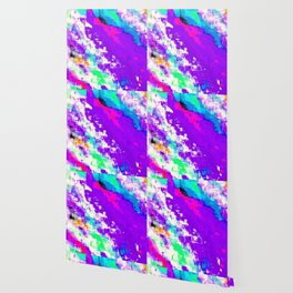 Glitchin' Purple Wallpaper