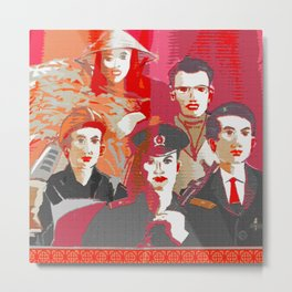 Tinker, Tailor, Soldier, Spy  Metal Print