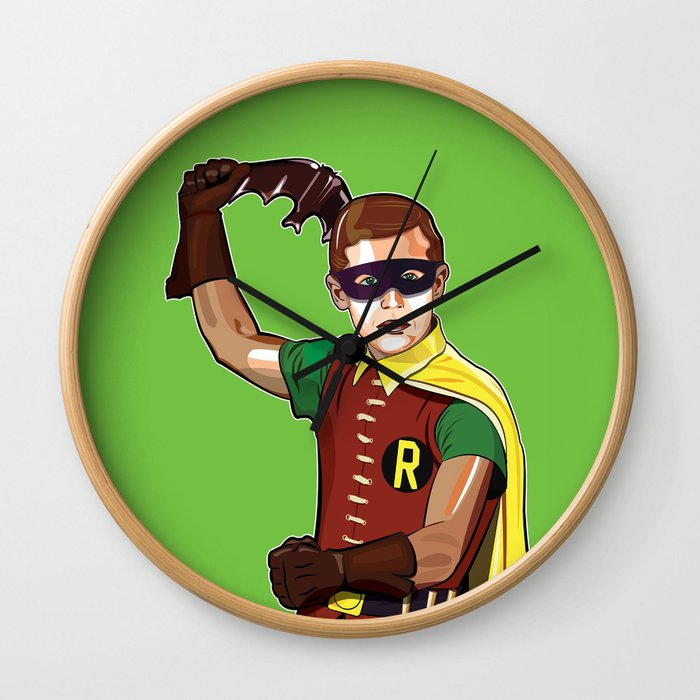 Boy Wonder Wall Clock