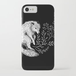 Botanical Wolf iPhone Case