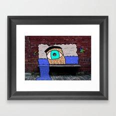 The Water Eye Framed Art Print
