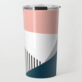 Colorful geometry 2 Travel Mug