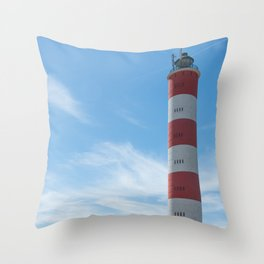 Lighthouse of Berck, Pas-de-Calais Throw Pillow