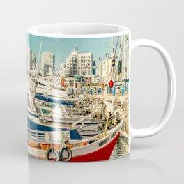 Punta del Este Port, Maldonado, Uruguay Coffee Mug