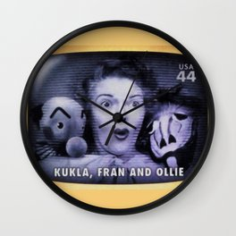 Kukla Fran and Ollie Wall Clock