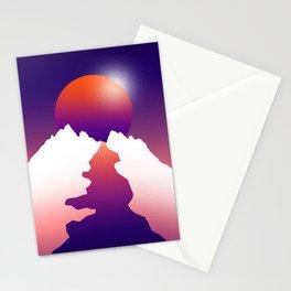 Spilt moon Stationery Cards