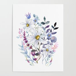Wildflowers V Poster
