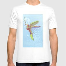 Firefly MEDIUM White Mens Fitted Tee